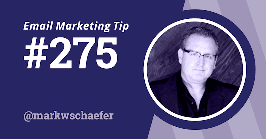Tip #275: The Best Miners Win: Email Marketing Best Practices for 2016