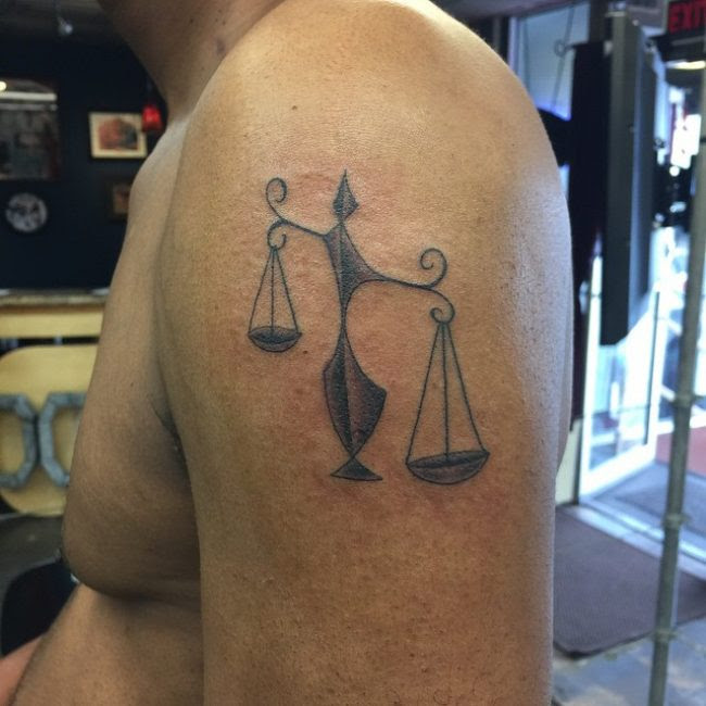 75 Extraordinary Libra Tattoo Designs Meanings 2018