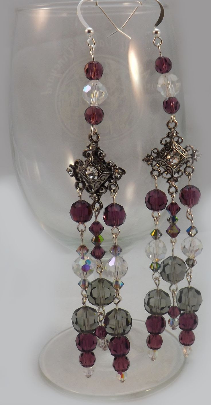 Amazing Earrings!  Special orders for weddings, fashion shows, fitness competitions and just for fun.  BeadTwins.net