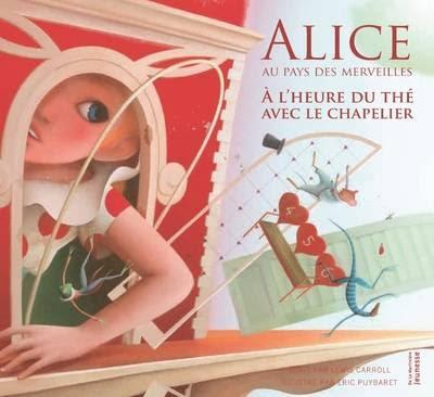 Couverture Alice au Pays des Merveilles : A l'heure du thé avec le Chapelier