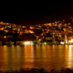 Simi Island by night - Greece by Konstantinos Tsagalidis (Vito73) on 500px.com