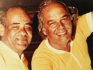 Dodô e Osmar no final da década de 1970. (Foto: Família Macedo / Arquivo Pessoal)