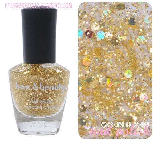 golden girl nail polish