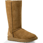 UGG Women's Classic Tall II Boot Wool Blend in Chestnut, Size 7