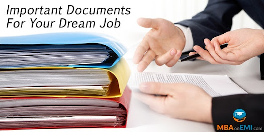 Do You Have These 5 Documents In Hand For Your Dream Job?