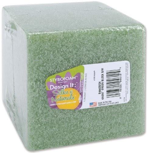 "Floracraft Styrofoam Block-2/""X3/""X10/"" 3 Pack"
