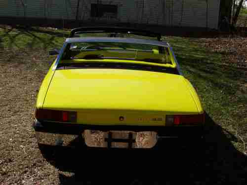 Sell Used Porsche 914 20 1973 Yellowblack Great Fun In