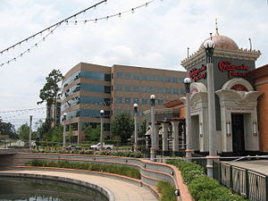 Downtown the Woodlands Texas