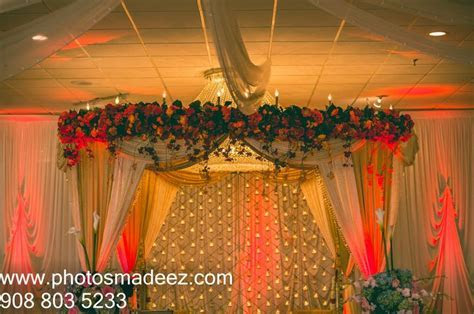 Mandap   Wedding decor for Indian Wedding in the Skylands