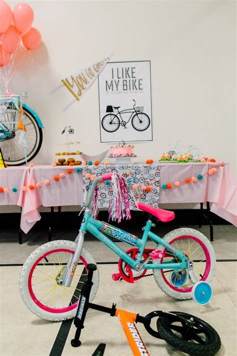 Kara's Party Ideas Adorable Bike Themed Birthday Party