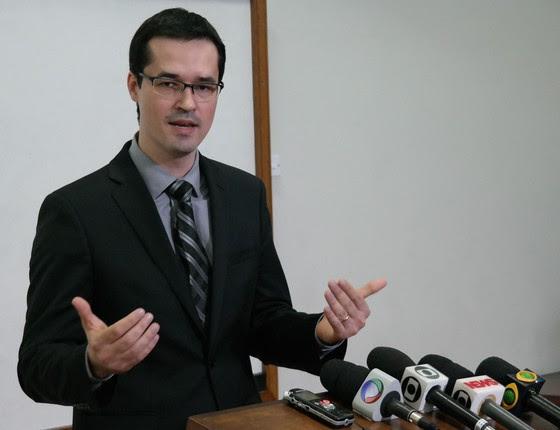 O procurador do MPF Deltan Dallagnol  (Foto: Agência Brasil)