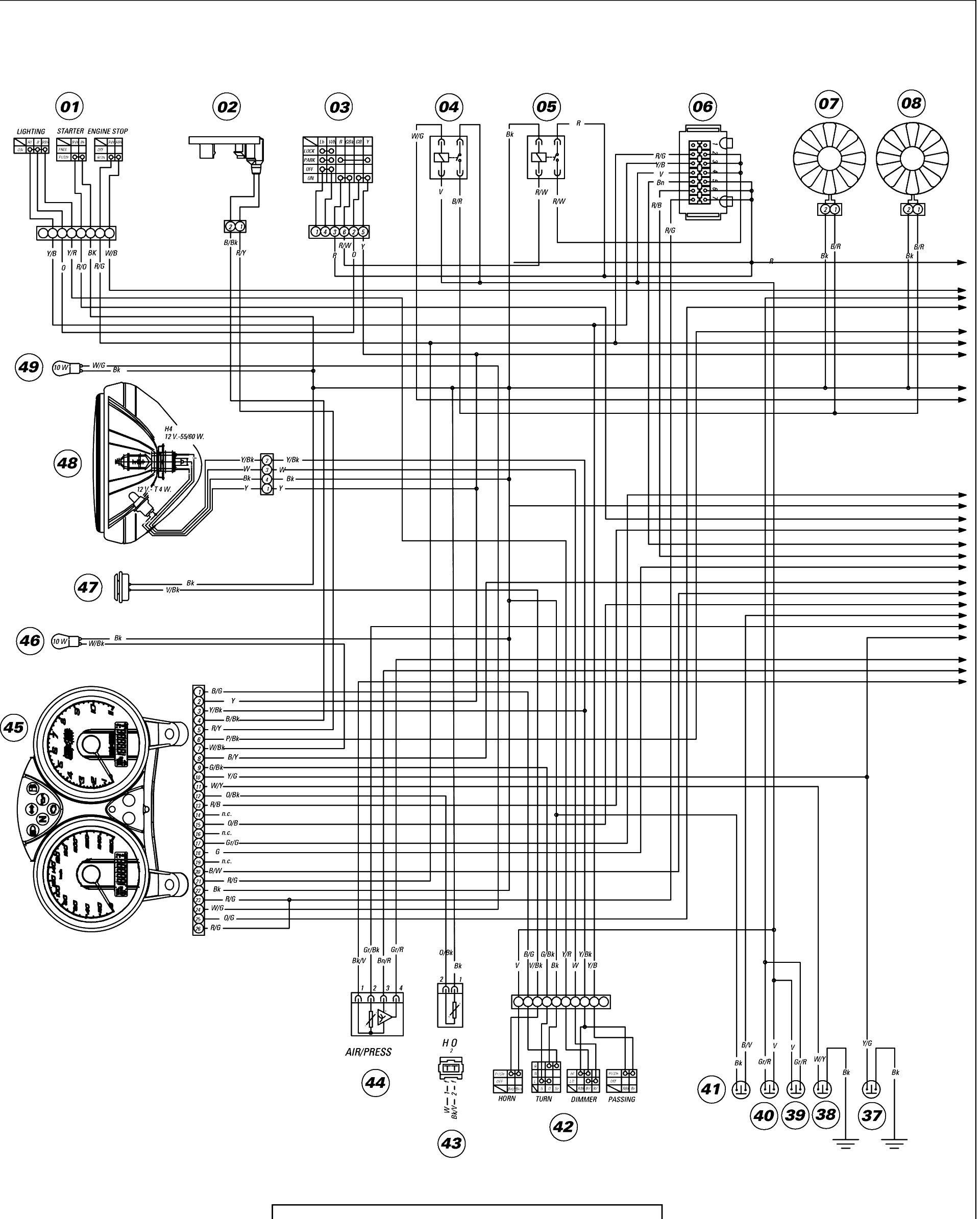 [DIAGRAM] 2013 Ducati Monster 696 Wiring Diagram FULL