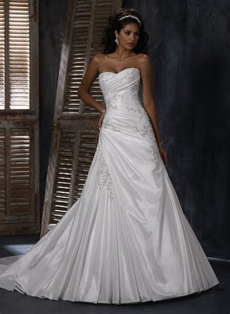21 Gorgeous A Line Wedding Dresses Ideas ? The WoW Style
