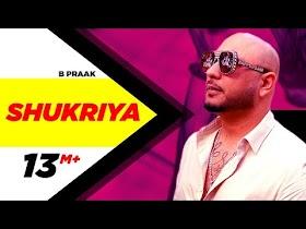 Shukriya (Official Video)   Sufna   B Praak   Jaani   Ammy Virk   Tania   Latest Punjabi Songs 2020