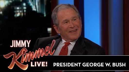 President George W. Bush Reveals If Impressions Bothered Him - YouTube