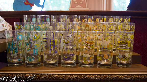 Disneyland Resort, Disneyland, Retro, Themed, Glass, Glasses