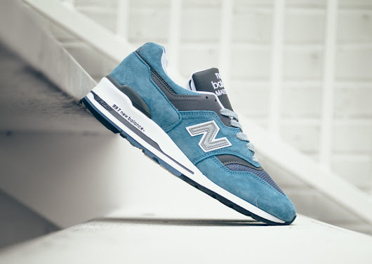 New Balance 997 Ice Blue - Sneaker Bar Detroit