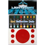 Lightweights  Safety Limited Reflective Dots, Assorted Colors
