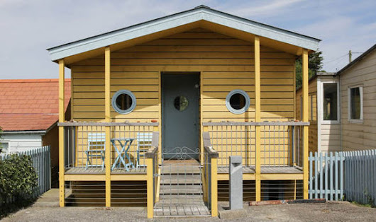 £525,000 for 'beach hut' with a 3-bedroom secret