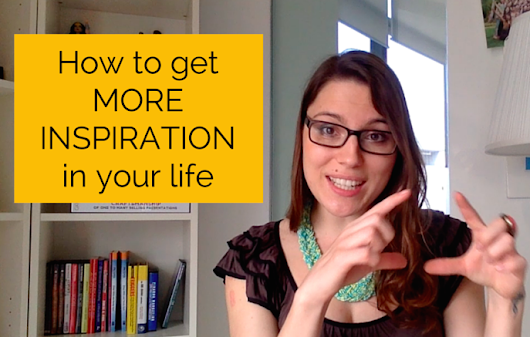How To Get More Inspiration In Your Life | Psychology for Marketers