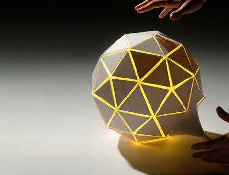 Lampad'air Inflating Lamp by Aïssa Logerot