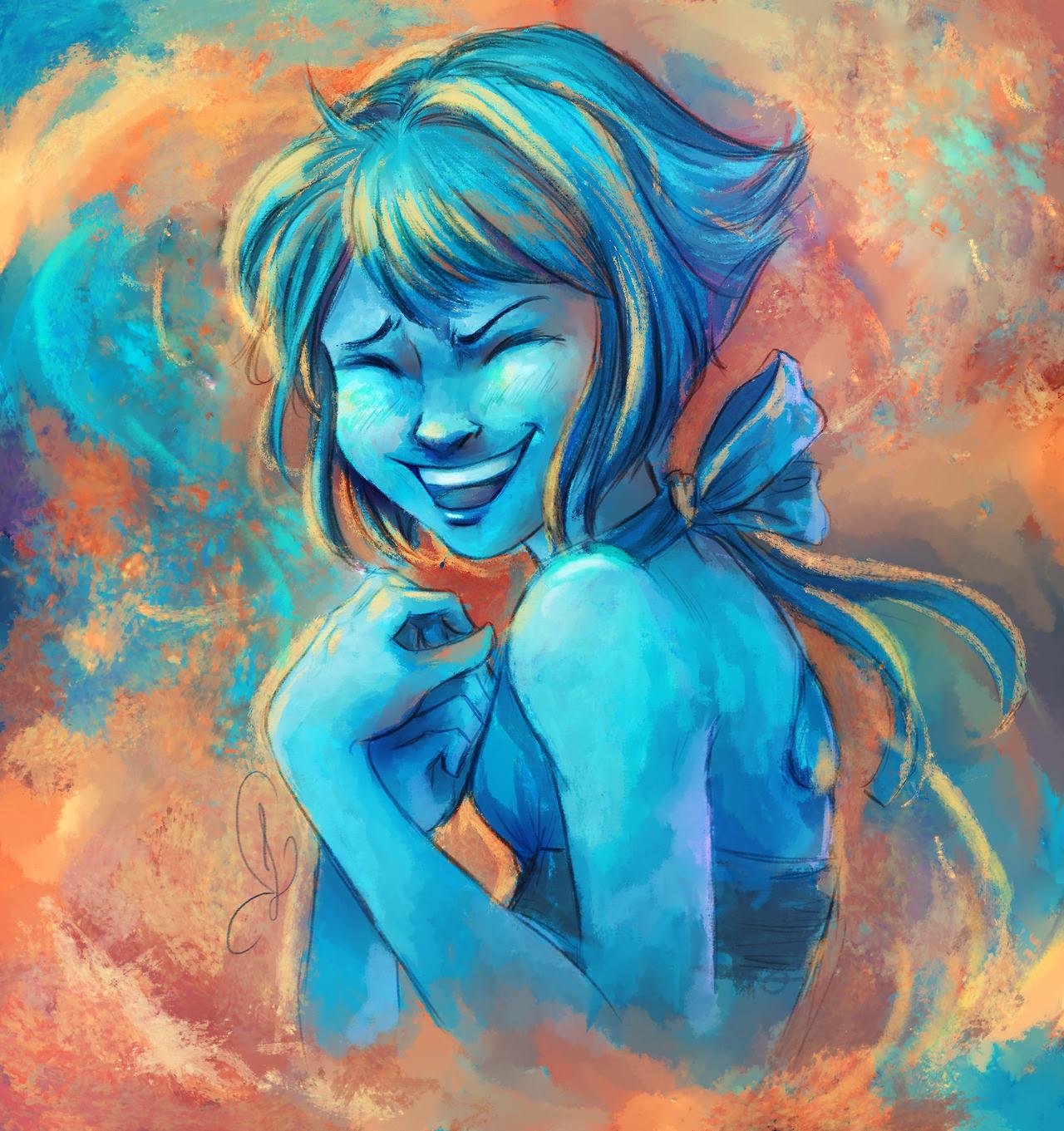 We need more smiling Lapis