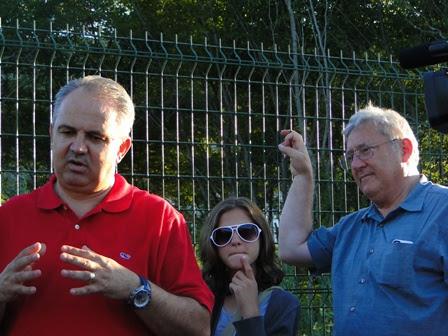 Denis and Mara with ivan