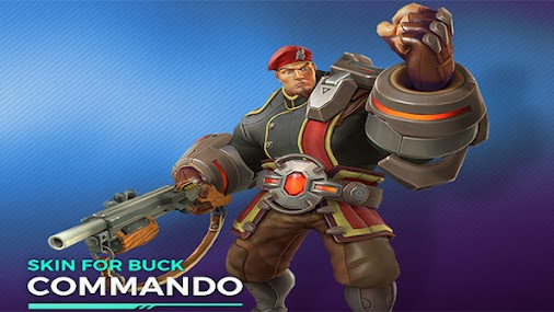 Paladins giveaway! We've got EVEN MORE codes for champion Buck up for grabs!
