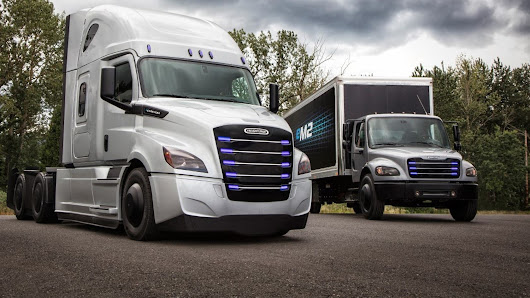 Freightliner Announces Electrified Versions Of Its Popular Heavy-Duty & Medium Duty Trucks | CleanTechnica