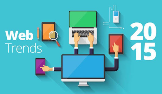Web Design Trends in 2015 All Set To Rock the Coming Year…!