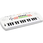 aPerfectLife Keyboard Piano Kids, 32 Keys Multifunction Electronic Kids Keyboard Piano Music Instrument for Toddler with Microphone (White)