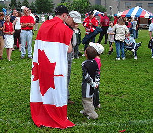 Canada Day 2006 in Greenfield Park, Quebec, Canada