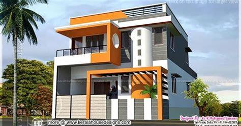 modern house design  tamilnadu style kerala home