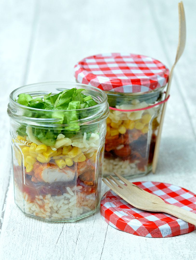 Mexican Jam Jar Salad