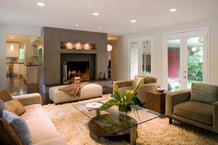LED Beleuchtung im Wohnzimmer - 30 Ideen zur Planung