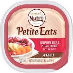Nutro Petite Eats Wet Adult Dog Food Signature Beef & Potato Entree 3.5 oz.