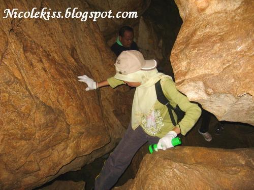 narrow cave