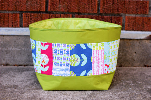 Color Me Retro Patchwork Nesting Bowl by Jeni Baker