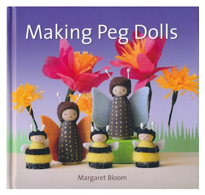Making Peg Dolls by Margaret Bloom book cover