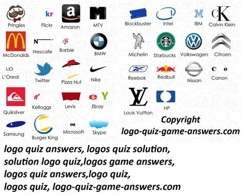 logo quiz pack  answers joy studio design gallery