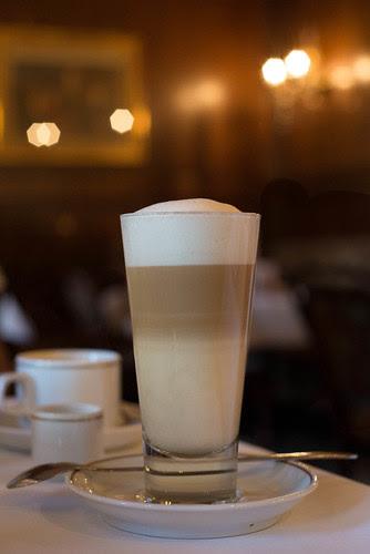 Latte, Mozart Cafe, Vienna