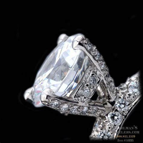 Pearlman's Bridal Pave Diamond Prongs