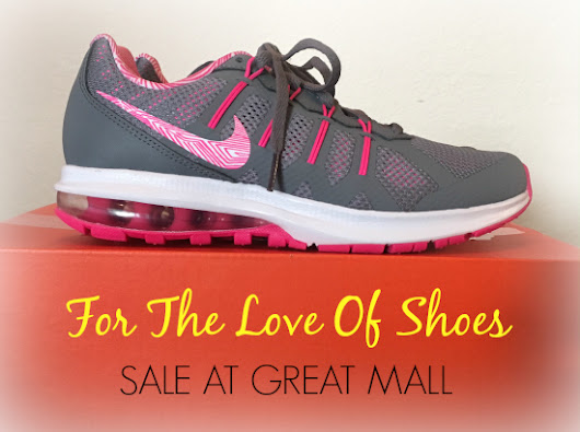 Shoe Lovers Unite! Shoe Sale Now At Great Mall! #LoveOfShoes - Bay Area Mommy