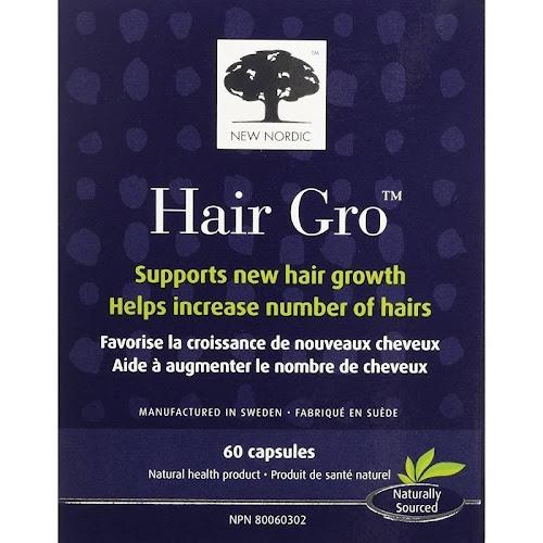 New Nordic Hair Gro, Capsules - 60 capsules