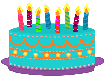 Birthday Candle Stock Vectors Clipart And Illustrations