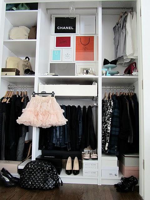 Richgirllowlife's Closet Upstairs