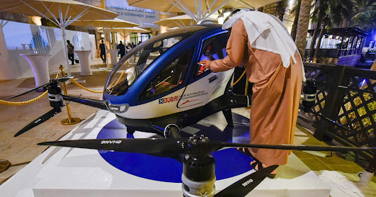 Drone taxis? Dubai plans roll out of self-flying pods
