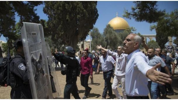 Jerusalém: incursão de uma centena de colonos na Mesquita da al-Aqsa