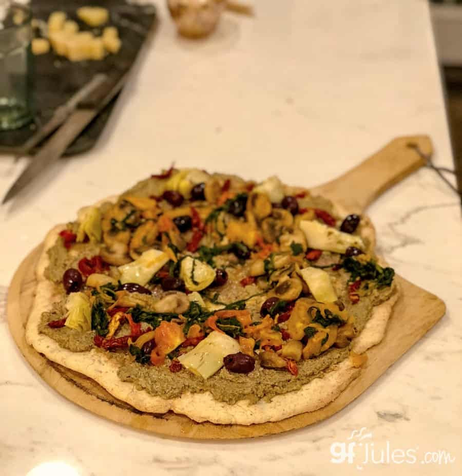 Grilled Gluten Free Pizza Crust Recipe - using #1-rated ...