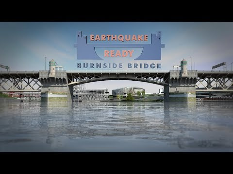 This video simulation of the Burnside Bridge collapsing during an earthquake will haunt your dreams